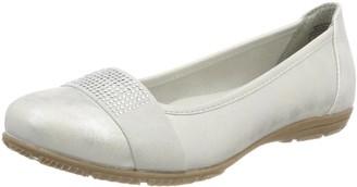 JANE KLAIN Women's 221 041 Closed Toe Ballet Flats