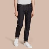 Burberry Skinny Fit Indigo Selvedge Jeans