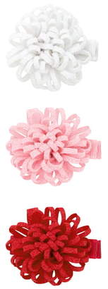 PLH Bows 3-Pack Loopy Puff Hair Clips
