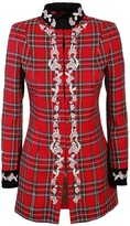 The Extreme Collection Red Frock Coat Style Jacket Triana