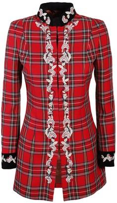 Red Frock Coat Style Jacket Triana