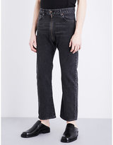 Vetements Regular-fit Straight Mid-rise Jeans