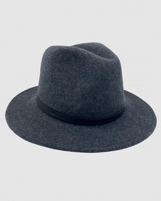 Jacaru - Grey Hats - Jacaru 1849 Wool Traveller Hat - Size One Size, XXL at The Iconic
