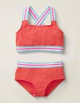 Textured Bikini Set