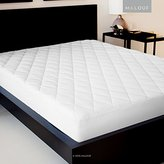 Malouf SLEEP TITE Quilted Mattress Pad with Damask Cover and Down Alternative Fill - Queen