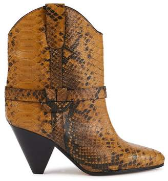 Isabel Marant Deane heeled ankle boots
