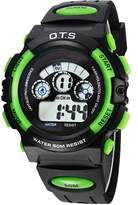 Dreamy-OTS Colorful Backlight Boys and Girls Waterproof Digital Watches for Students