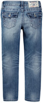 True Religion Soft Pink Single End Jean (Toddler & Little Girls)