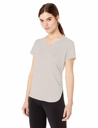 Sam Edelman Active Women's Short Sleeve Rouched T Shirt