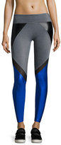 Lanston Manning Combo Block Leggings, Blue/Black