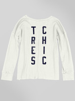 Junk Food Clothing Kids Girls Tres Chic Long Sleeve-sugar-l