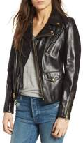 Schott NYC Women's Leather Moto Jacket