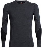 Icebreaker Men's Winter Zone Long Sleeve Crewe Baselayer