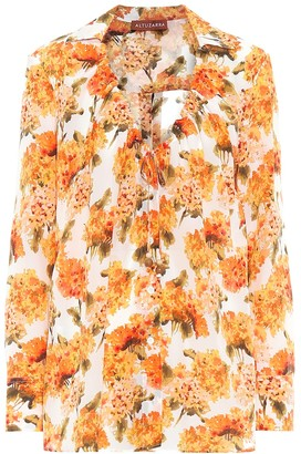 Altuzarra Exclusive to Mytheresa Bowie floral silk blouse