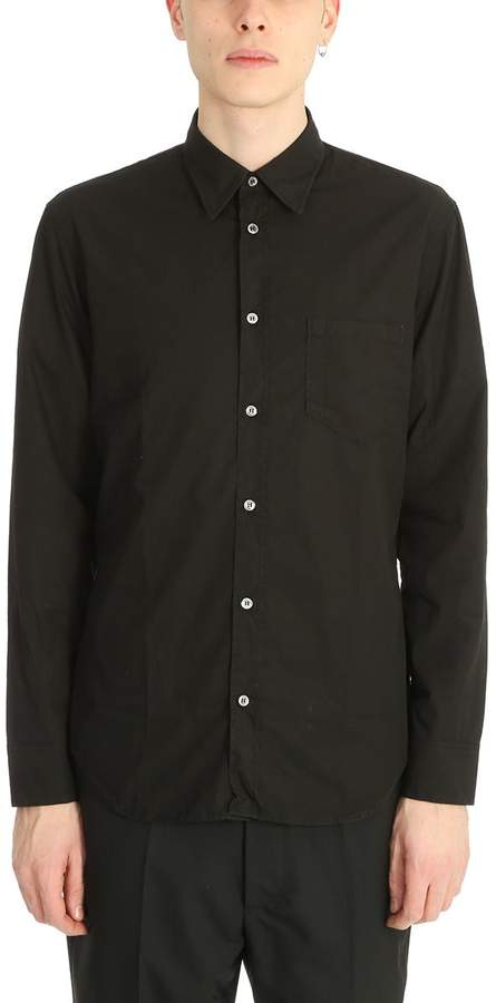 Maison Margiela Black Cotton Shirt