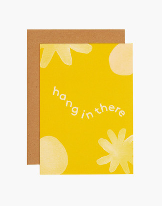 Madewell grl & co. Hang In There Greeting Card