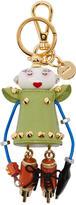 Prada Green Holly Keychain