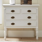 Birch Lane Easterbrook 4 Drawer Accent Chest Heritage Color: White