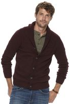 Men's SONOMA Goods for LifeTM Shawl Cardigan Sweater