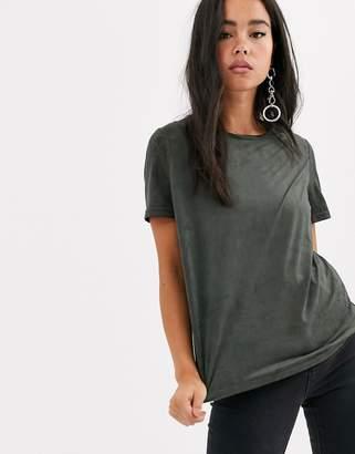 Noisy May t-shirt-Grey