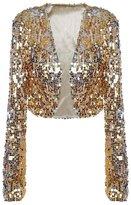 Eyekepper Women Ds Clubwear Sparkly Sequin Long Sleeve Shrug Cardigan Jacket