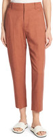 Vince Sateen Cropped Carrot Pants