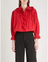 Nili Lotan Mai cotton blouse