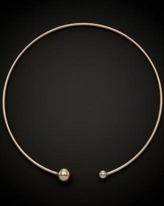 Italian Gold 14K Choker Collar Necklace