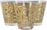 One Kings Lane Vintage Georges Briard Gilded Glasses, S/3