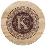 Thirstystone Monogram K Trivet