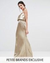 Jarlo Petite Blaze Overlay Maxi Dress