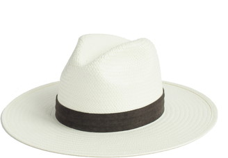 Janessa Leone Marcell Packable Straw Fedora