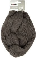 Scunci Style Cable Knit Headwrap