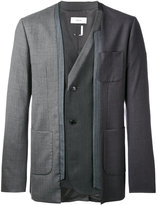 Facetasm bug tailor jacket - men - Polyester/Cupro/Wool - 3