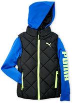 Puma Boys 8-20) Mock Layered Jacket
