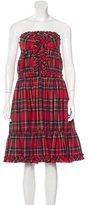 Dolce & Gabbana Bustier Virgin Wool Dress w/ Tags
