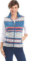 Woolrich Women's Printed Andes Vest - Atlantic Vests