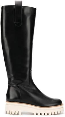 Paloma Barceló platform ridged boots