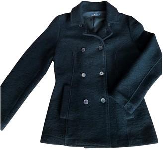 Brooksfield Black Wool Coat for Women