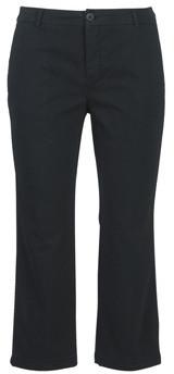 Benetton ORELY women's Cropped trousers in Black