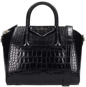 Givenchy Antigona Small Hand Bag In Black Leather