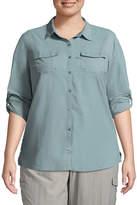 Columbia Amberley Stream Long Sleeve Shirt-Plus
