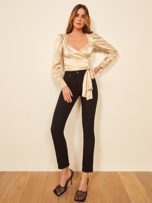 Reformation Petites Liza High Straight Jean