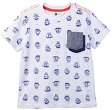 Petit Lem Allover Print Pocket Tee (Toddler & Little Boys)