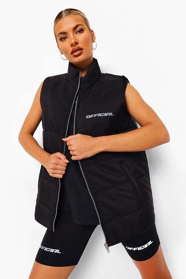 boohoo Padded Active Gilet