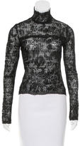 John Galliano Lace Embroidered Top