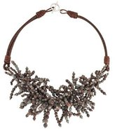 Brunello Cucinelli Bead Fringe Necklace w/ Tags