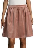 Vero Moda Velvet A-Line Skirt
