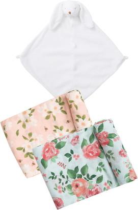 Angel Dear Bunny Blanket & Swaddle Set