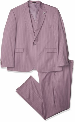 Stacy Adams Men's 3 Pc. Modern Fit Suit